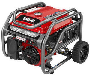 Black Max 3,600-Watt Portable Gas Generator