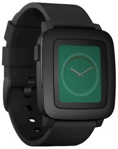 Pebble Time Smart Watch - Black