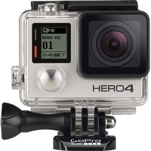GoPro - HERO4 Silver Action Camera + $80 Gift Card
