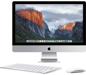 "Apple 27"" iMac with Retina 5K display and Intel Core i5 CPU"