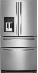 Whirlpool 25.0 Cu. Ft. French Door Refrigerator with Thru-the-Door Ice and Water