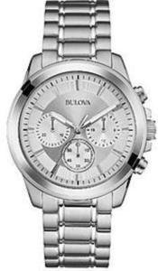Men's Bulova Stainless Steel Chronograph Watch