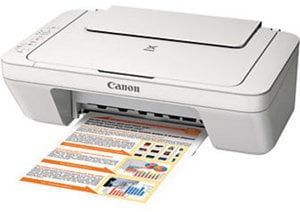 Canon PIXMA MG2520 Color Inkjet All-In-One Printer, Scanner, Copier Item # 792911