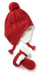 Toddelr Girls' Knit Beanies