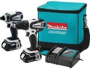 Makita 18V Lithium-Ion 2-Tool Kit