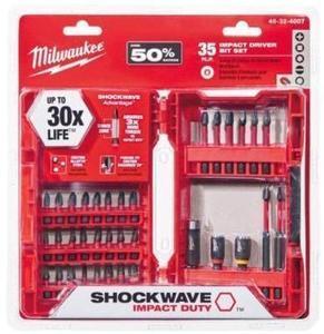 Milwaukee Shockwave 35 Piece Bit Set