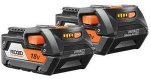 Rigid 2-pack 18-volt Lithium-Ion High-Capacity Battery