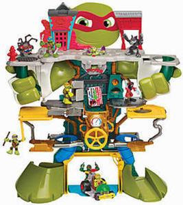 Nickelodeon Pre-school Mega Lair Playset w/ Coupon #4