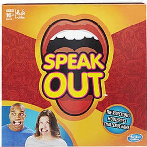 Hasbro Speak Out Game