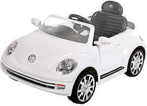 VW Aria Child 6V Battery Toy Ride-On Vehicle VW Beetle w/ Coupon #1