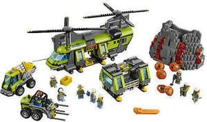 LEGO City Volcano Heavy-lift Helicopter (60125)