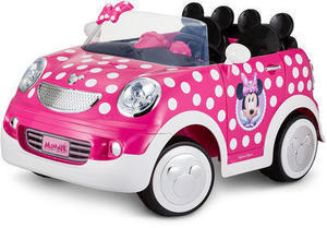 Disney Minnie Mouse 12 Volt Hot Rod Coupe Powered Ride On