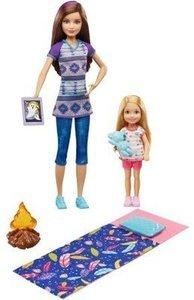 Barbie Camping Fun Two Sisters and Camping Accessories