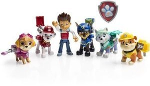 Paw Patrol action pup 6 pack