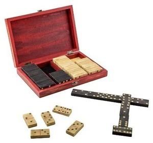 Parlor Dominoes Board Game