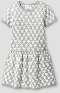 Toddler Girls' Stars Sweater Dress Gray - Cat & Jack