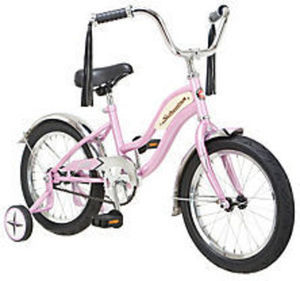 "16"" Girls' Pink Schwinn Roadster Children's Bike"