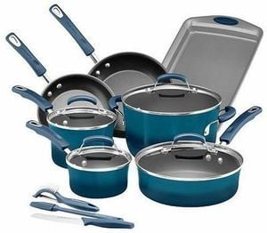 Rachael Ray 14-pc. Nonstick Aluminum Cookware set After Rebate + $15 Kohl's Cash