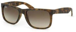 Ray-Ban Justin Wayfarer 55mm Matte Tortoise Frame/Brown Gradient Lens Sunglasses