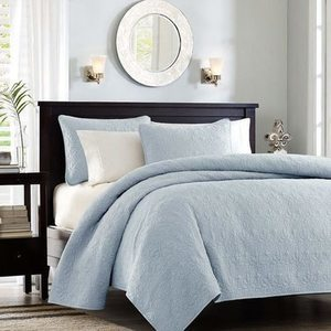 Madison Park Mansfield 3-Pc. Quilted Pattern Coverlet Mini Set