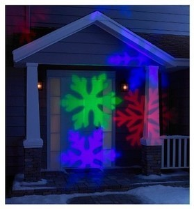 Philips Multicolored Snowflakes Projector