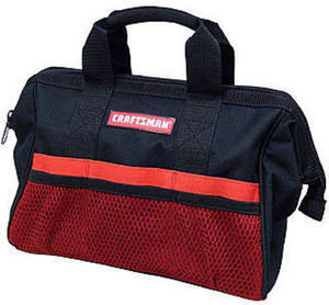 Craftsman 13 in. Tool Bag + 100% In Points