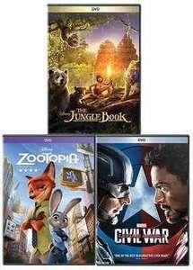 Select Disney DVDs