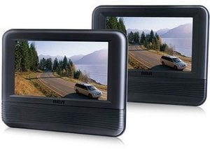 "RCA 7"" Dual Screen DVD Player"