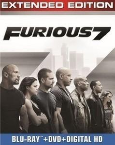 Furious 7 [Includes Digital Copy] [Blu-ray/DVD]