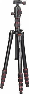 "Sunpak TravelLite Pro Reverse Folding 63"" Tripod - Black/Red"