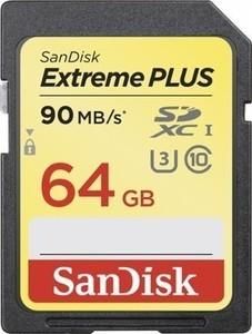 SanDisk Extreme PLUS 64GB SDXC Memory Card