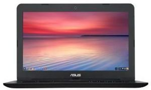 "Asus 13.3"" Chromebook Laptop with Intel Celeron N3060 Processor, 4GB Memory, 16GB eMMC Flash Drive, Black"