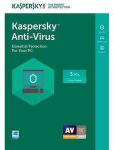 Kaspersky Anti-Virus 2017 - 3 PCs (Key Card) After Promo Code BFFLYER20