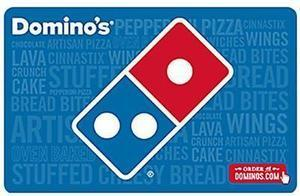 Domino's Pizza $25 Gift Card (Email Delivery) + Free $5 Gift Card