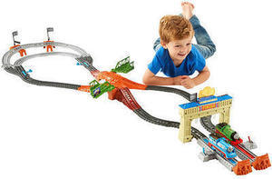 Thomas & Friends Trackmaster Thomas and Percy's Railway Race Train Set