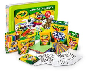 Crayola Super Art Coloring Kit