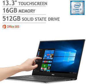 Dell XPS 13 Touchscreen Laptop w/ Intel Core i7
