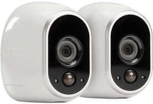 Arlo Smart Home HD Wireless IP Security Camera 2-Pack