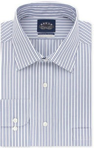Eagle Men's Classic-Fit Non-Iron Stretch Collar Dress Shirt