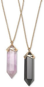 Genuine Healing Stone Pendant Necklace Collection