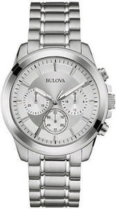 Bulova Men's Chronograph Stainless Steel Bracelet Watch 40mm 96A176