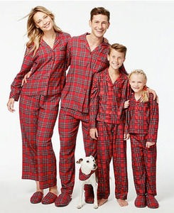 Holiday Family Plaid Pajama Sets