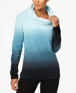 Fleece Cowl-Neck Top