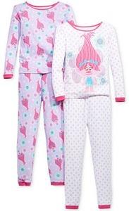 DreamWorks Trolls Poppy Magic 4-Pc. Pajama Set