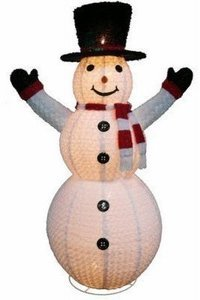 Holiday Wonderland Snowman Christmas Decoration