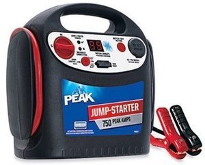 Peak Battery Jump Starter, 750-Amps