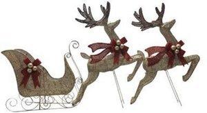Sleigh/Reindeer Set