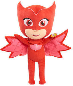 PJ Masks 14 inch Sing and Talk Stuffed Owlette - Red