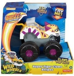 Blaze and the Monster Machines Super Tiger Claws Stripes Monster Truck