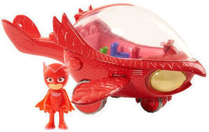 PJ Masks Deluxe Owlette' s Owl-Glider Vehicle